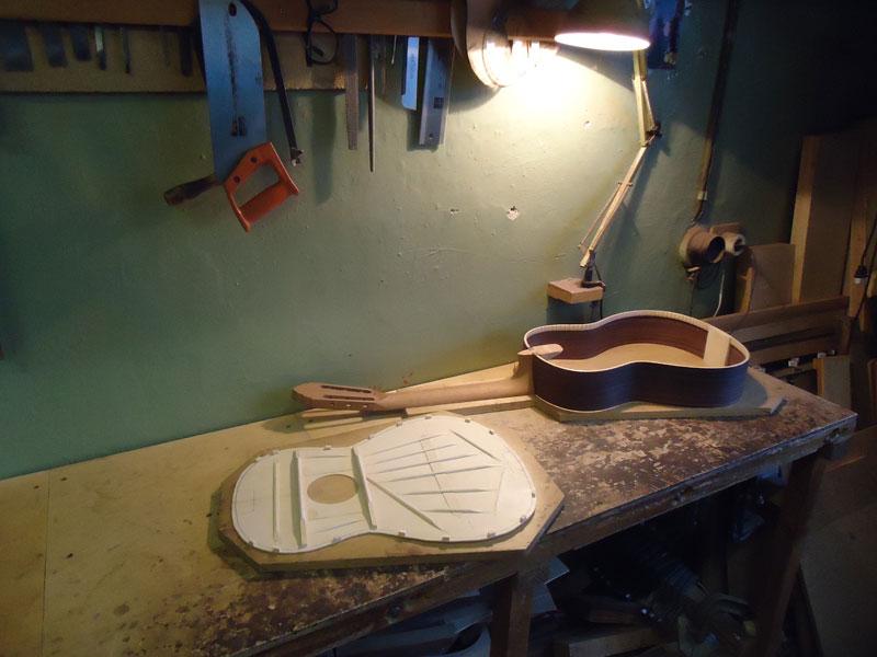 сборки классической гитары